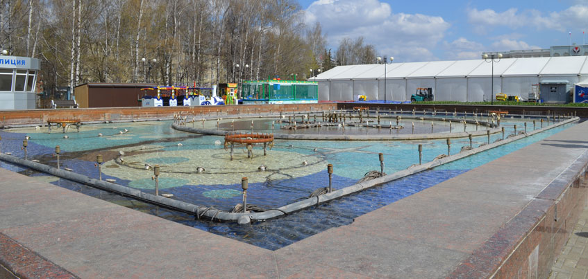 Руководство города задумалось о реконструкции Центральной площади