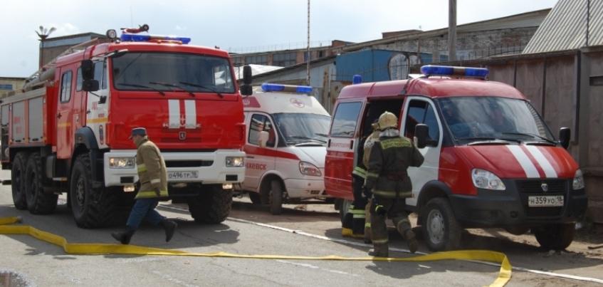 Пожар на складе на улице Пойма удалось локализовать