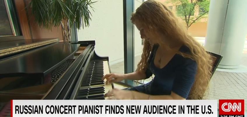 На американском канале CNN рассказали о жизни пианистки из Удмуртии Аси Корепановой