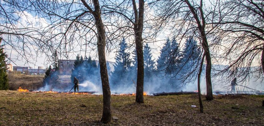 В Удмуртии ввели режим повышенной готовности из-за возможности пожаров