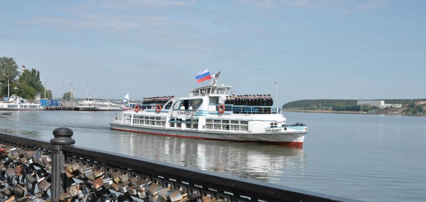 Теплоходы до Воложки в Ижевске могут начать курсировать с 9 мая