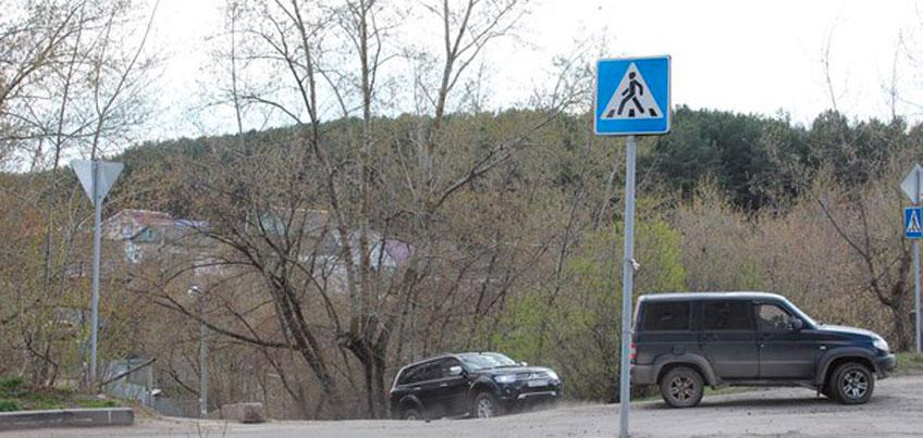 В Ижевске появится зебра на перекрестке улиц Новостроительная и оружейника Драгунова
