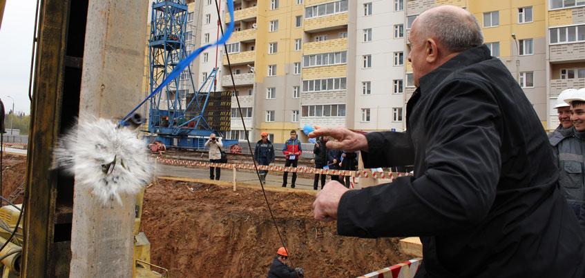 В Ижевске начали строительство школы в мкр «Столичный»