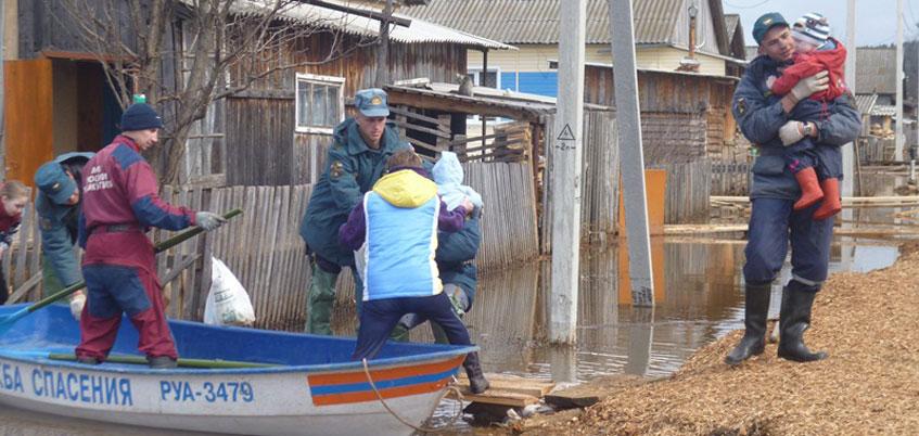 Специальная комиссия оценит ущерб от паводка в Удмуртии