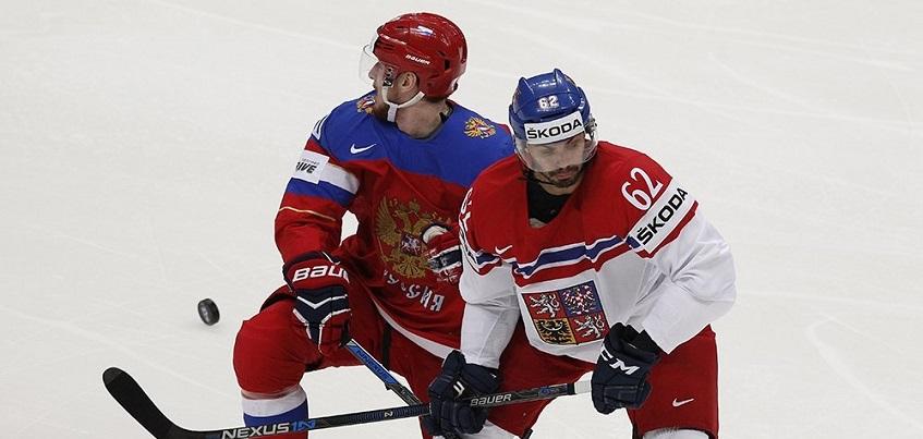 Сборная России по хоккею проиграла сборной Чехии в первом матче чемпината мира по хоккею