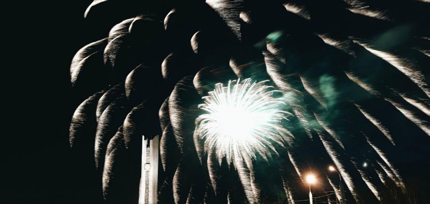День Победы в Ижевске закончился салютом