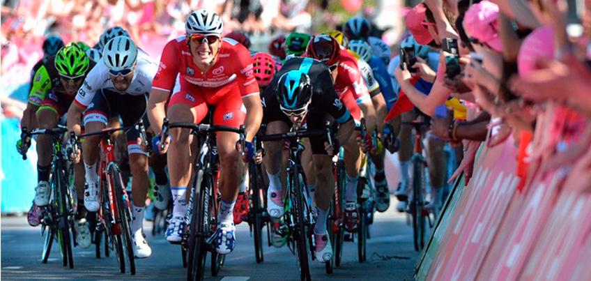 Гонщик из Удмуртии Александр Порсев финишировал пятым на третьем этапе «Джиро д'Италия»