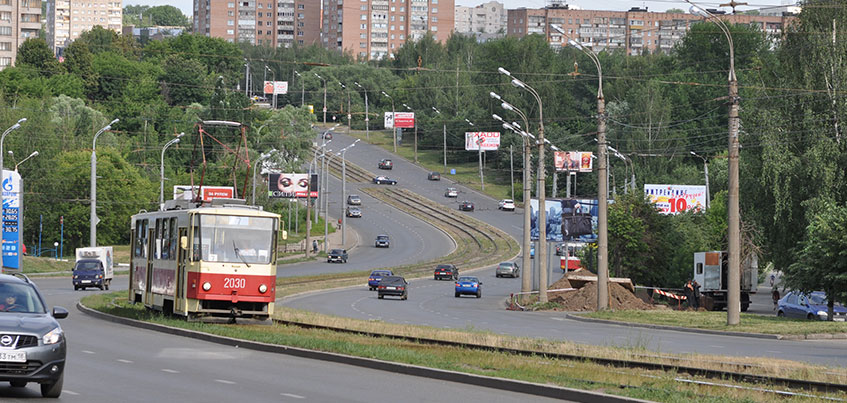 На улицах Дзержинского и Кирова в Ижевске проведут дорожные работы