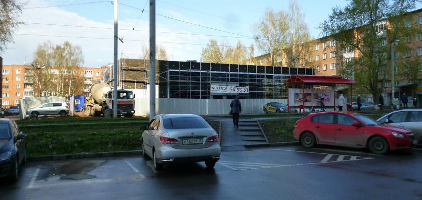 Что строят на улице Школьной в Ижевске?