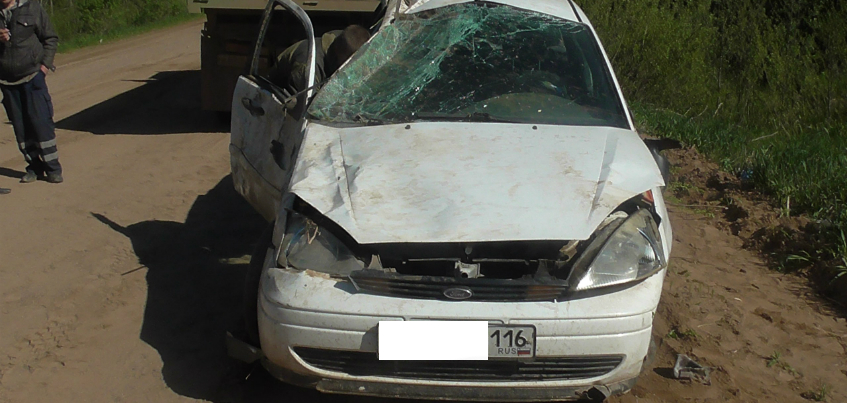 22-летний пассажир легковушки погиб в Кизнерском районе Удмуртии