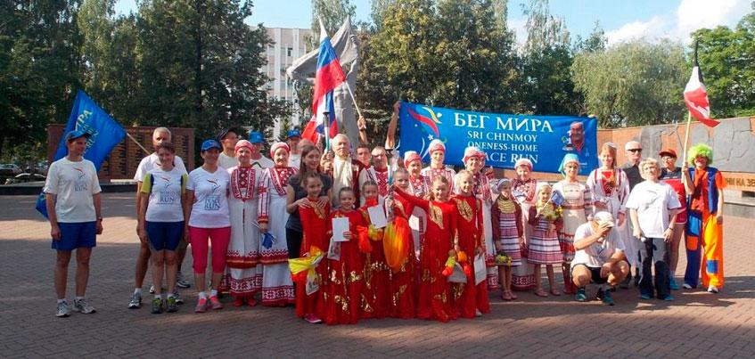 Жители Удмуртии примут участие в международной факельной эстафете «Бег Мира»