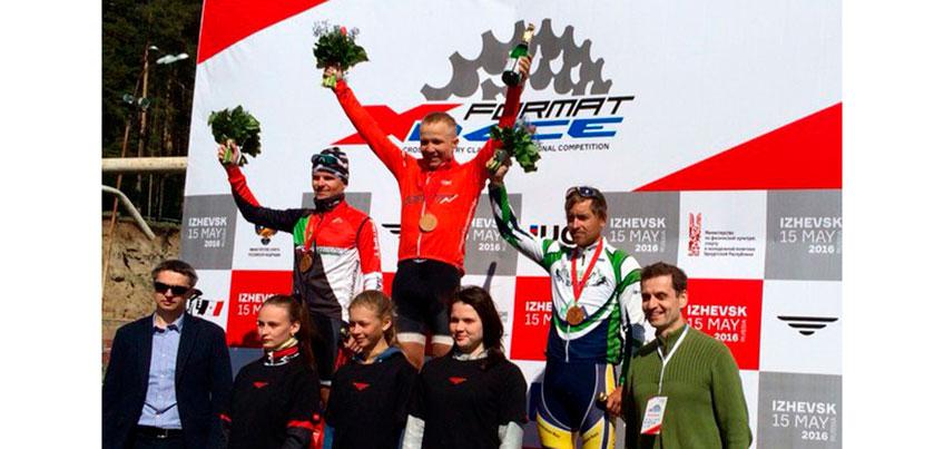 Маунтинбайкеры Удмуртии выиграли три медали на международном турнире