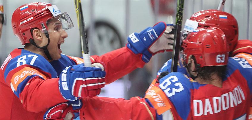 Сборная России по хоккею обыграла команду из Швеции на Чемпионате мира