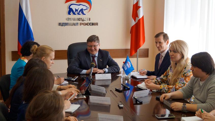Андрей Исаев: Предложения от Удмуртии войдут в федеральную программу «Единой России»