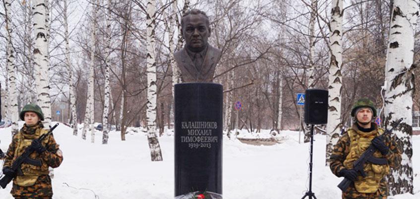 Памятник ижевскому оружейнику Михаилу Калашникову установят в Москве