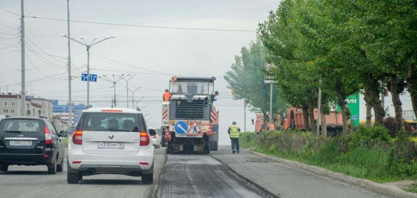 В Ижевске дорожники начали ремонтировать 40 лет Победы на участке ул. Ленина – «Улица Молдавская»