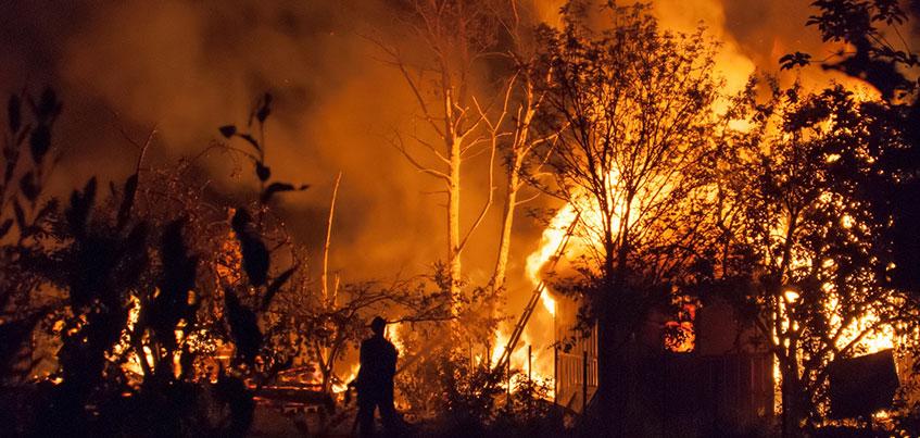 С начала сезона в Удмуртии произошло 45 пожаров в садоводческих товариществах