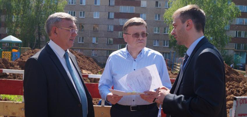 Глава Ижевска проинспектировал подготовку к новому отопительному сезону