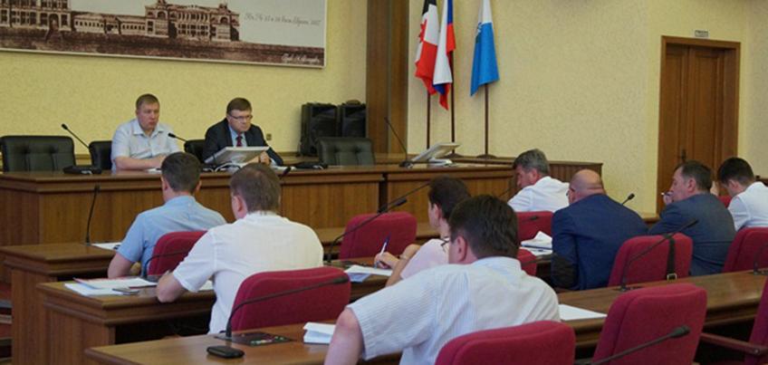 Администрация Ижевска держит на контроле подготовку теплосетей к следующей зиме