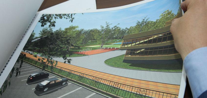 Спортцентр с национальным колоритом планируют построить в Козьем парке Ижевска