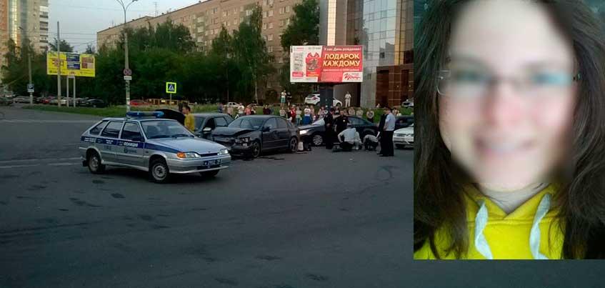 В Ижевске в больнице умерла девушка, которую сбил неадекватный водитель