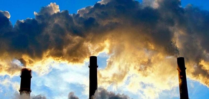 За месяц в Ижевске увеличилось загрязнение атмосферного воздуха