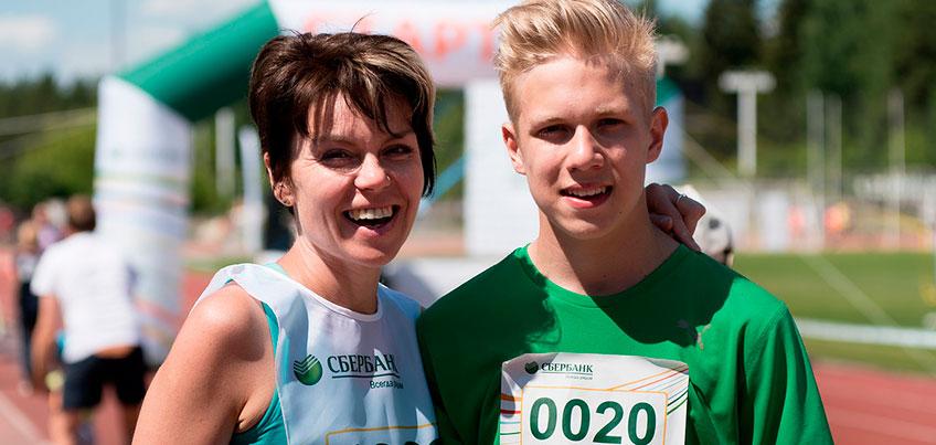Зеленый марафон Сбербанка в Ижевске собрал около 1000 участников