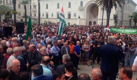 Попытку государственного переворота совершили в Абхазии