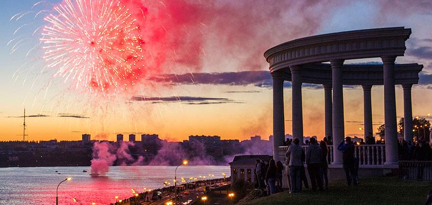 Концерт Зары, велопробег и салют: «День города»–2016 в Ижевске