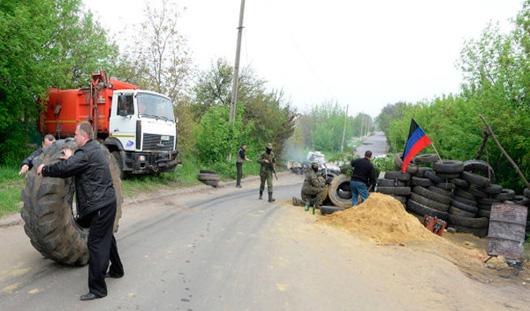 Силовики обстреляли ополченцев в Луганской области