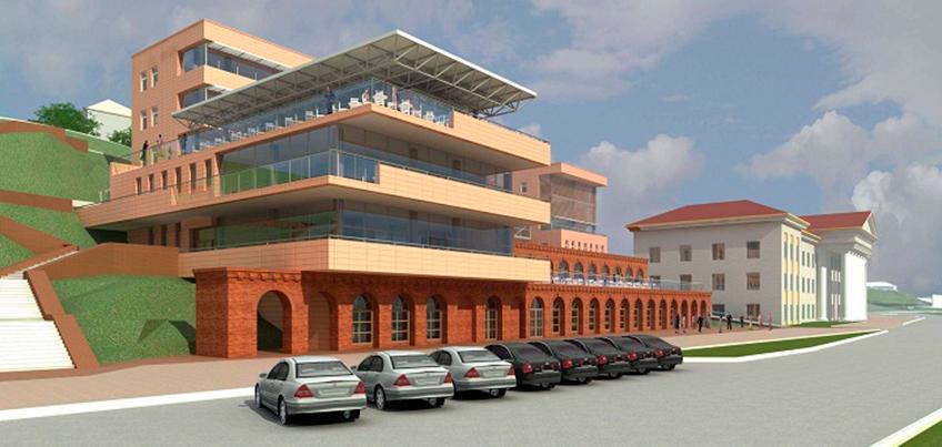 Строительство кафе на набережной Ижевска возобновят в середине июня