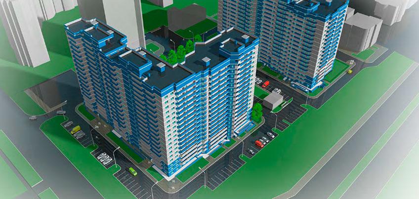 Микрорайоны А10 и А11: новостройки по соседству со взлетной полосой