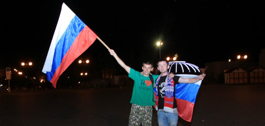 Ижевчане бронируют места в спортбарах и скупают форму сборной России по футболу