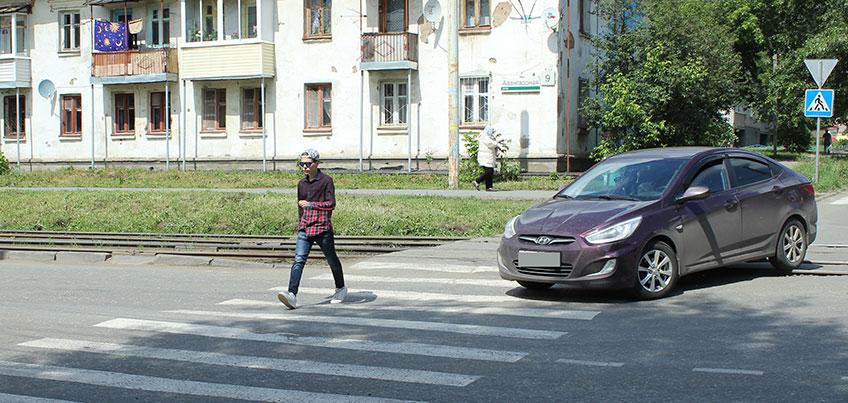 Испытание IZHLIFE: Внимательно ли ижевчане переходят дорогу?