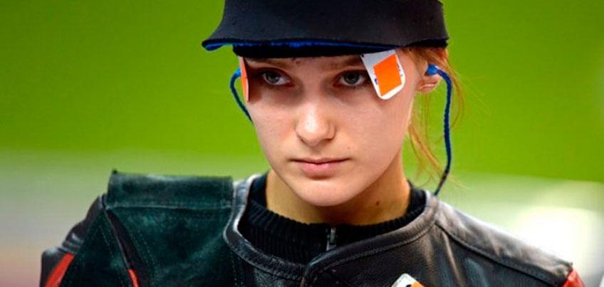 Воспитанница Удмуртской школы пулевой стрельбы практически забронировала себе место в олимпийской сборной