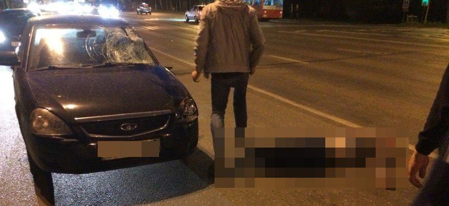 На улице Удмуртской в Ижевске сбили пешехода