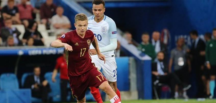 Сборная России сыграла вничью с Англией на Евро-2016