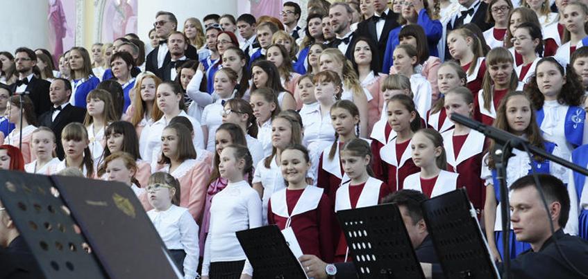 Накануне Дня города в Ижевске прошел «Большой хоровой собор»