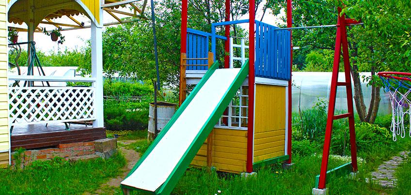 Советы от ижевчан: как сделать детскую площадку своими руками