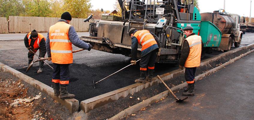 В Удмуртии начали ремонт дорог только на 27 участках