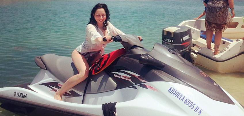 Фигуристка из Удмуртии Елизавета Туктамышева отдыхает на острове Джерба