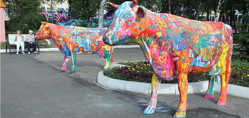 Как в Ижевске прошел Фестиваль коров