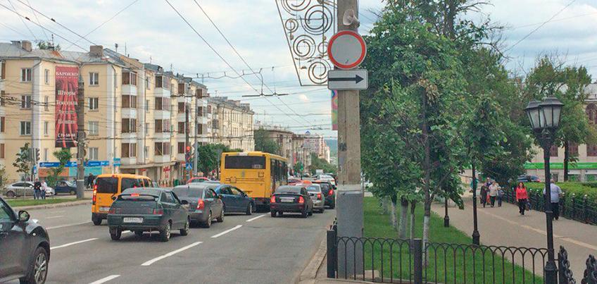 Есть вопрос: почему запретили проезд по Советской с Пушкинской в сторону Центра?