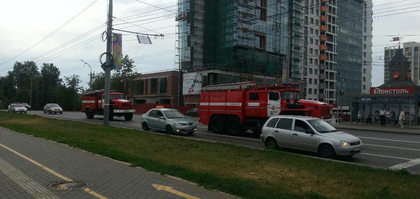 В Ижевске в здании НИТИ «Прогресс» произошел пожар