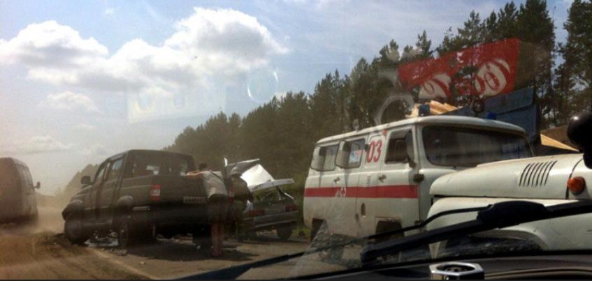 ГИБДД по Удмуртии: В ДТП в Сарапульском районе погиб человек