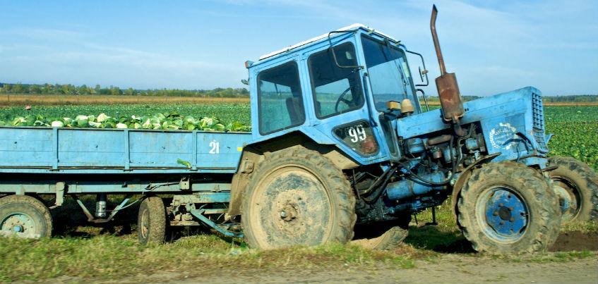 В Удмуртии 3-летний ребёнок попал под трактор