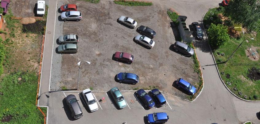 В Ижевске внешний вид парковок приведут к единому стилю