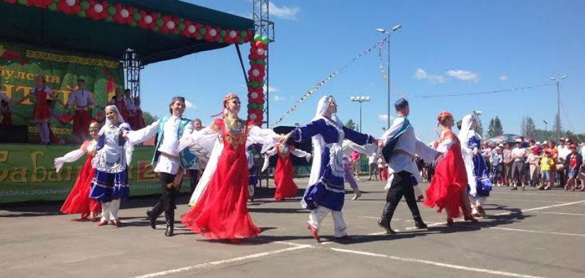 Национальный праздник «Сабантуй» отметили в Ижевске