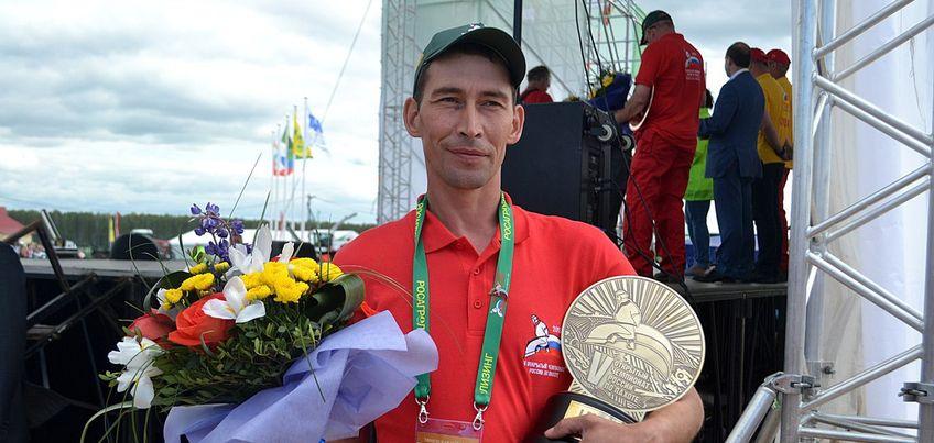 Вадим Зарецких из Удмуртии стал Чемпионом России по пахоте