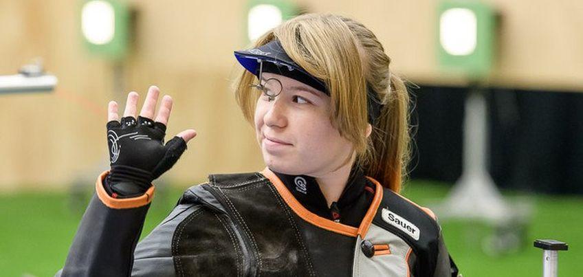 Ижевчанка стала лучшей среди россиянок в стрельбе из пневматической винтовки на этапе Кубка мира